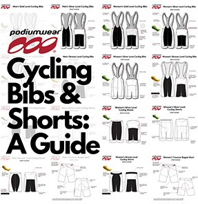 Podiumwear - Which Podiumwear Cycling Bibs/Shorts are Right For You - Gold, Silver, Bronze or Baggies?