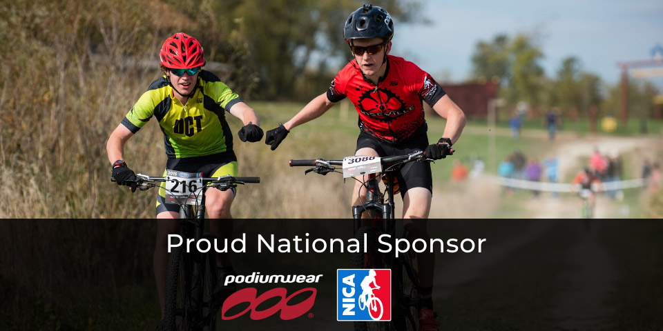 Podiumwear Custom Cycling Team Apparel - Proud National Sponsor - NICA