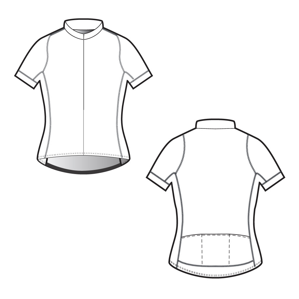 Design bike jersey template bicycling and the best bike for Custom cycling jersey template